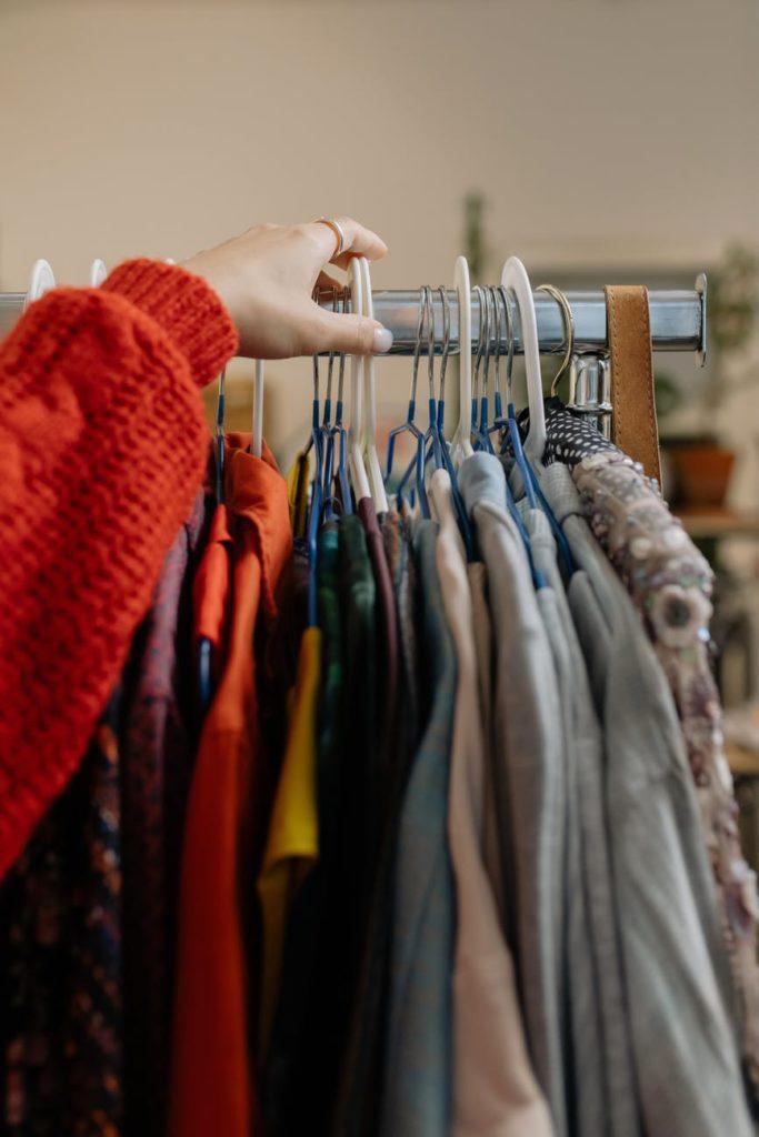 Acheter des vêtements d'occasion
